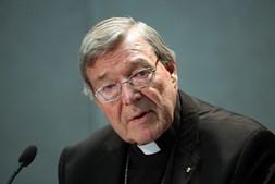 Cardeal George Pell, acusado de vários crimes sexuais