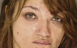 Leigh Ann Sepelyak está acusada de pegar fogo ao namorado, Grady Spencer
