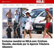 Ronaldo foi surpreendido por inspeção surpresa