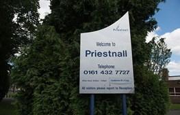 Escola de Priestnall, em Manchester, onde ocorreu o incidente