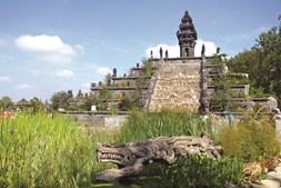 Zona do Reino de Ganesha, inspirada na Indonésia