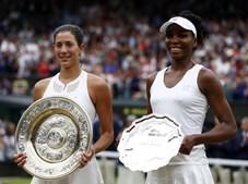 Garbiñe Muguruza  venceu Venus Williams na final de Wimbledon