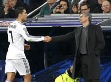 Moruinho e Ronaldo estiveram juntos e Madrid, mas não é provável que se reencontrem no Manchester United