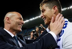 Zinedine Zidane e Cristiano Ronaldo