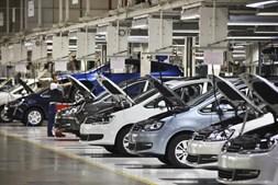 A fábrica da Autoeuropa, em Palmela