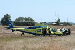 Acidente em Coruche faz sete feridos