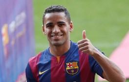 Douglas, de 26 anos, não conseguiu impor-se no Barcelona