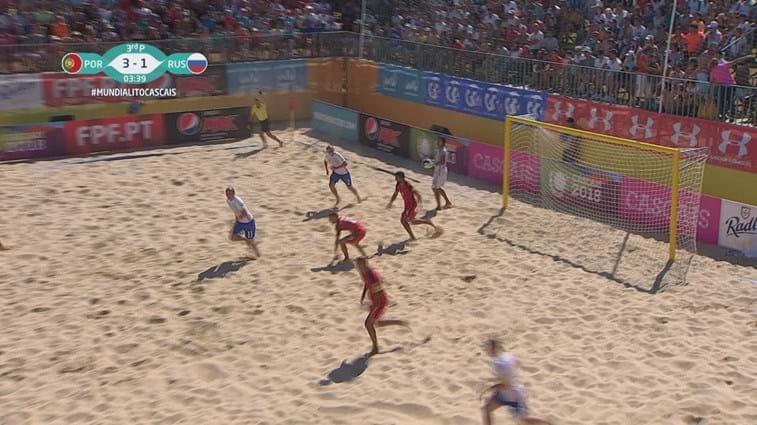 Portugal vence Rússia por 3-1 no Mundialito de Futebol de Praia ... 219240b560d8e