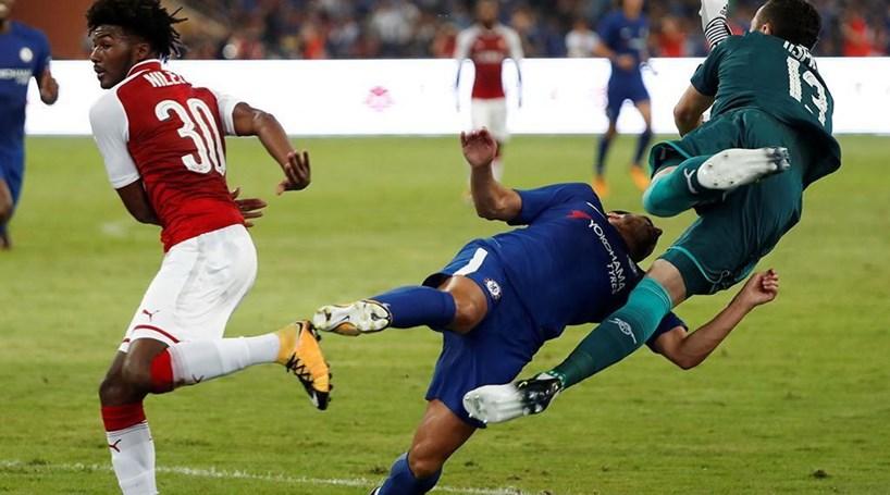 19a1c91dbf Jogador do Chelsea sofre várias fraturas na cara - Mundo - Correio ...