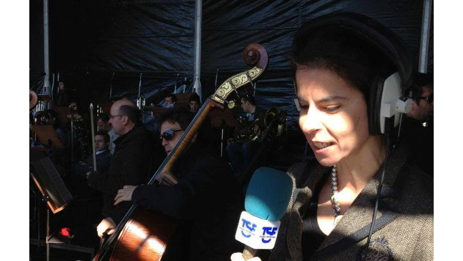 A jornalista Sofia Morais