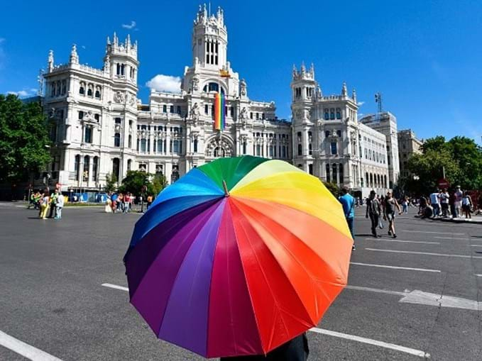 Orgulho gay em Madrid
