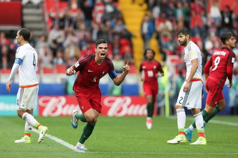 Pepe marcou o golo do empate ao minuto 91