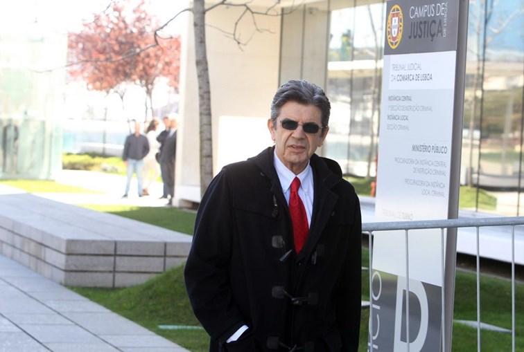 Manuel Maria Carrilho, numa das sessões de julgamento