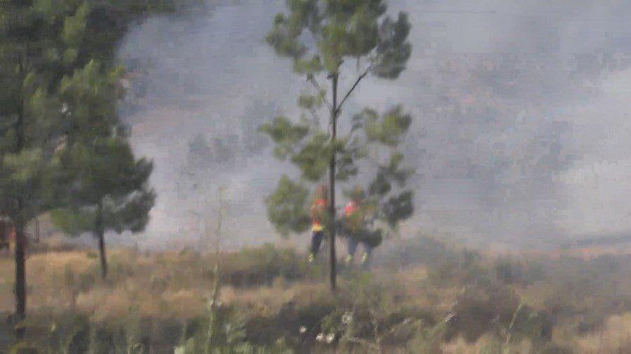 Incêndio na Covilhã
