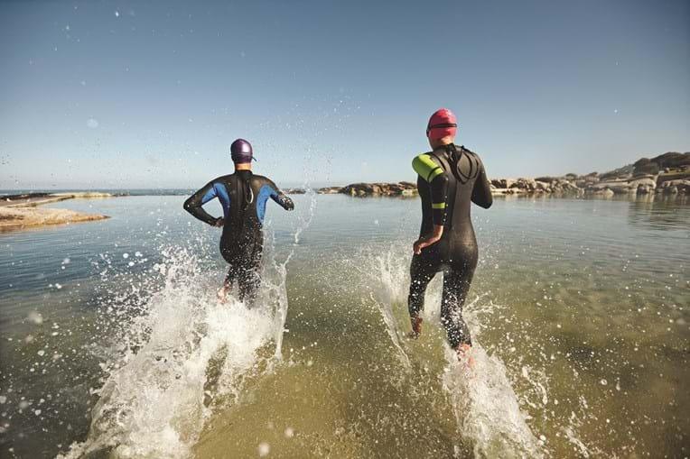 Primeira prova em Portugal foi na Arrábida e conquistou triatletas e runners
