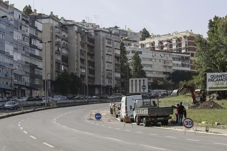 Calçada de Carriche em Lisboa