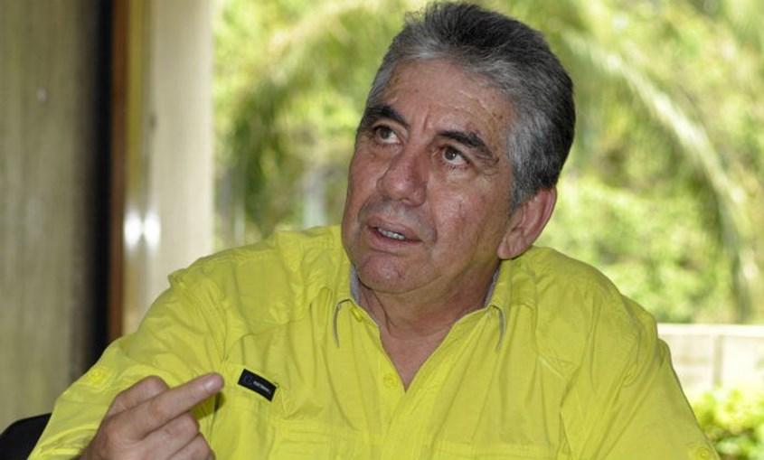 Alfredo Ramos, autarca venezuelano que se opõem ao presidente Maduro