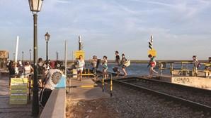 Comboios geram confusão em Faro