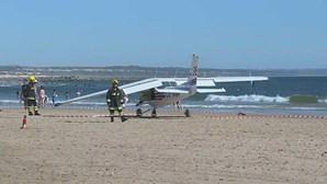 Avioneta que causou dois mortos estava em treino com aluno e instrutor sénior