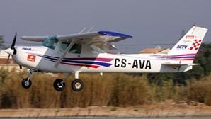 Aparelho acidentado pertence ao Aero Clube de Torres Vedras