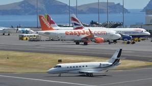 Circulação condicionada no aeroporto da Madeira devido ao mau tempo