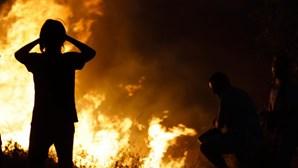 Fogo na Covilhã em fase de resolução