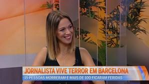 Jornalista vive terror em Barcelona