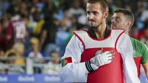 Rui Bragança medalha de bronze nos Europeus de taekwondo em -58 kg