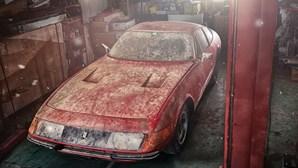 Ferrari Daytona único encontrado em barracão vale até 2 milhões