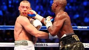Mayweather bateu McGregor e quebrou recordes milionários