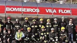 Bombeiros de Vila Flor com pavilhão para estacionar carros de socorro