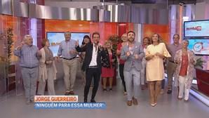 Jorge Guerreiro deslumbra no Manhã CM