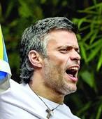 López tinha sido libertado há 3 semanas
