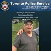 Domingos Martins desapareceu em Toronto