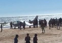 Avião ligeiro aterra de emergência em Almada