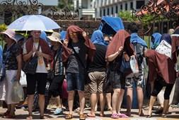 Onda de calor no Sul da Ásia