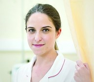 A enfermeira Sara Parreira