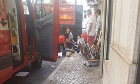 Homem com 50 anos foi atropelado por camião em Lisboa