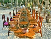 O Dakosta Island Beach Camp situa-se na Ilha de Rubane