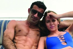 Luís Figo e Daniela