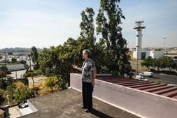 Isilda Lopes vive na rua das Mimosas há 43 anos. Como a casa está muito próxima da 2ª Circular, não vai ser legalizada