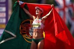 Inês Henriques sagra-se campeã mundial nos 50 km de marcha nos Mundiais de Atletismo