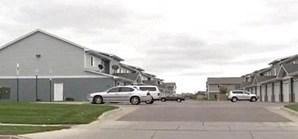 Rua onde a vítima vivia com o agressor