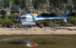 Eurocopter AS350 Ecureuil pertencente à Everjets