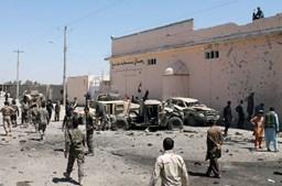 Imagens do atentado no Afeganistão