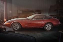 O Ferrari 365 GTB/4 encontrado