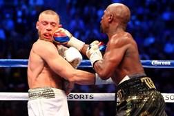 Mayweather e Conor McGregor no combate do século