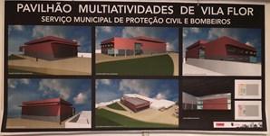Imagem do projeto dos Bombeiros Voluntários de Vila Flor