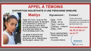 Maëlys de Araújo, de nove anos, está desaparecida