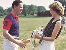James Hewitt e a princesa Diana